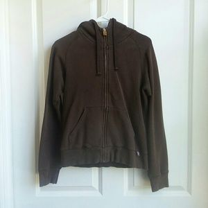 TNA Aritzia Brown Hoodie Hooded Jacket Medium